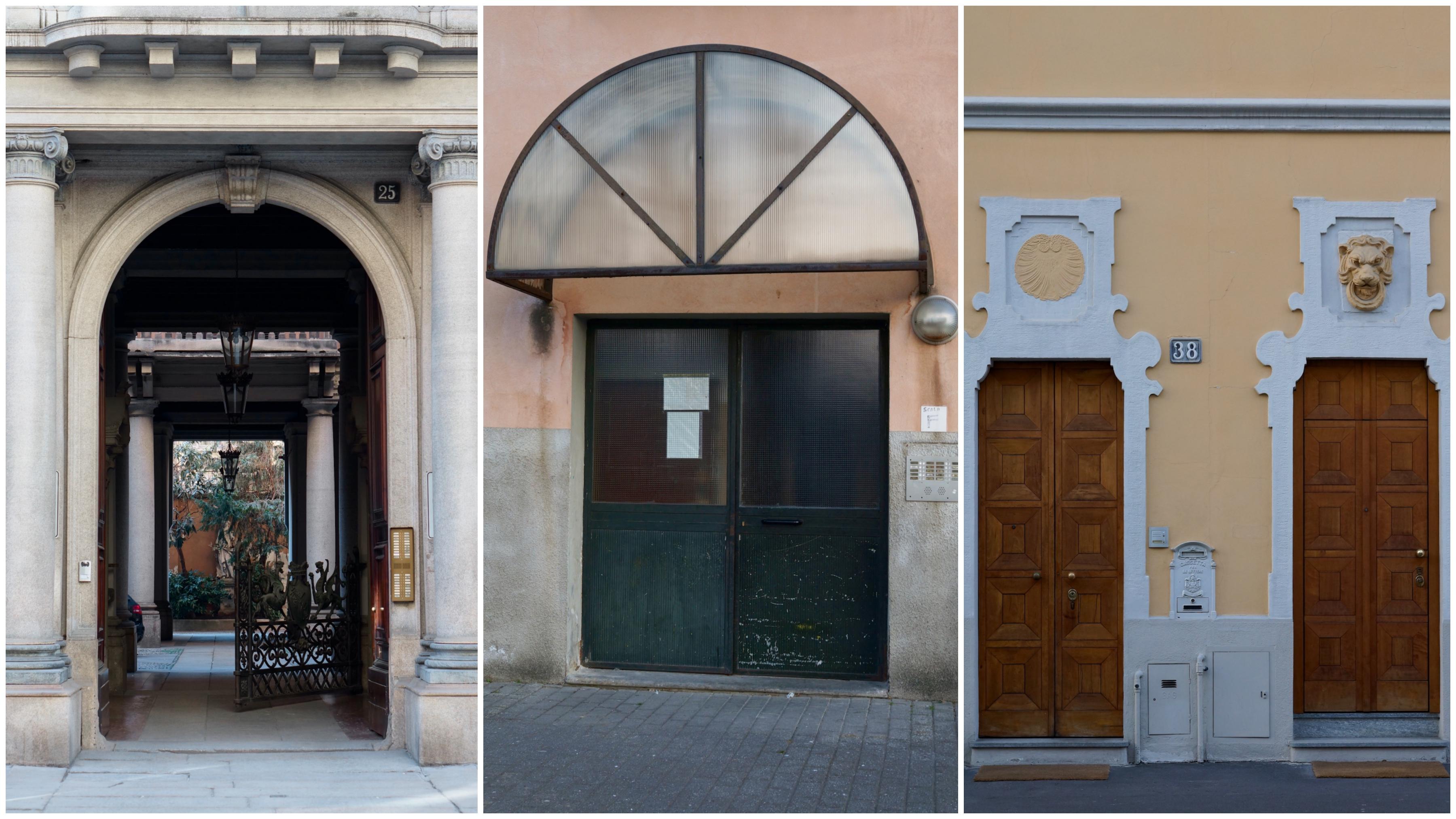 Soglia Marmo Porta Ingresso fenomenologie urbane: le porte d'ingresso degli edifici